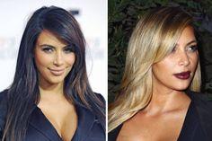 Kim Kardashian: became mother, then promptly became blonde
