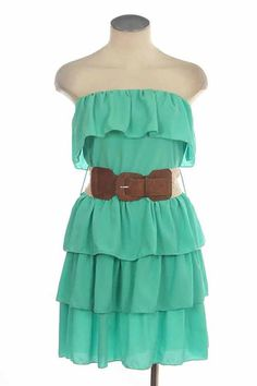 Adorable! Pretty much every dress with a belt, can be worn with boots :)