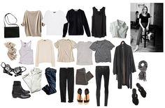 How to Create a Minimalist Capsule Wardrobe Minimalist Wardrobe, Minimalist Fashion, Minimalist Style, Capsule Wardrobe Work, Travel Wardrobe, Buy Lingerie, Perfect Wardrobe, Warm Outfits, Julia
