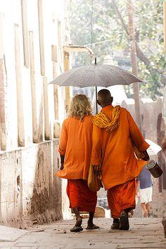 They left everything except friendship . Varanasi