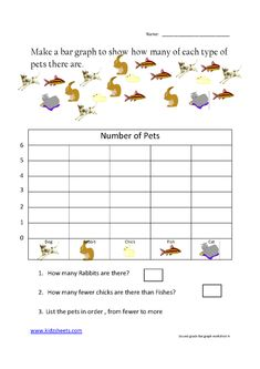graph+worksheets+first+grade | ... Worksheets, Maths Worksheets, Second Grade Bar graph, Bar graph