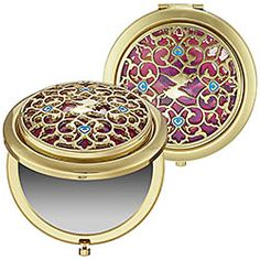 Disney Jasmine Collection - The Palace Jewel Compact Mirror .. i want it :) has a little magic lamp on it!!!