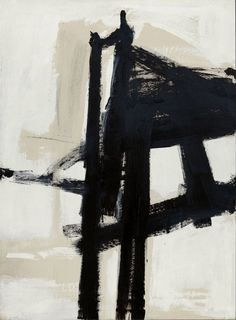 FRANZ KLINE, Light Mechanic, USA, 1960. Oil on canvas. / Bloomberg