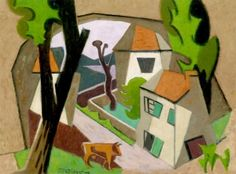 Landscape with Cow - Jean Metzinger - The Athenaeum