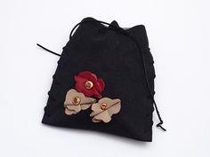Mała torebka Czarna I w AB art na DaWanda.com