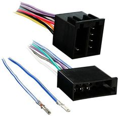 Metra - Turbo Wire Wiring Harness with Amplifier Integration Plug for Select 1987-2002 Volkswagen Vehicles - Black