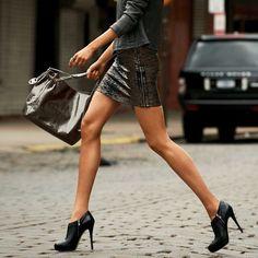 Ankle boot stilettos.