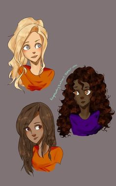 Annabeth, Hazel and Piper