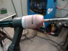 stick welding with tig welding torch