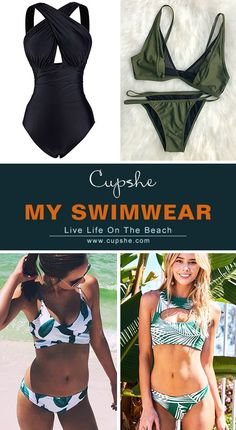 Best beach look is here! Want to join the beach party in perfect outfits? Cupshe.com will say yes to your dreaming style. Inspire beauty and confidence here!