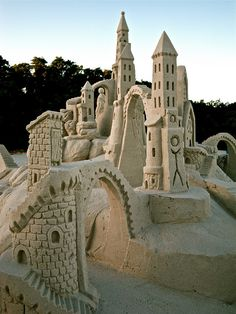 Sand castle, side view… by amazin walter, via Flickr