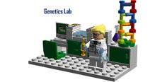 "University Biology Laboratory Following on from the incredible ""University Chemistry Laboratory"" and ""University Physics Laboratory"" sets, this set depicts life of a Universit..."