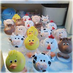 Resultado de imagen para animales de la granja en porcelana fria