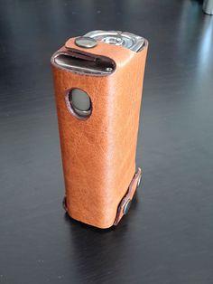 COVERTA vape case - Joyetech Cuboid 150w. Leather ecig case, leather vape sleeve, vape pouch, customizable, handmade ecig case by malafola on Etsy