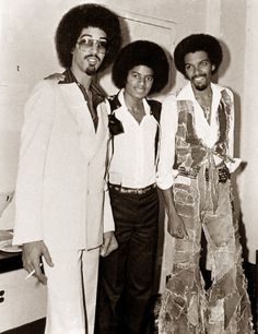 Michael Jackson and the Brothers Johnson