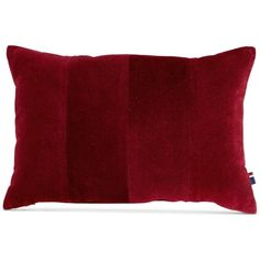 "Tommy Hilfiger Pieced Corduroy 12"" x 18"" Decorative Pillow featuring polyvore home home decor throw pillows cabernet modern throw pillows modern home decor corduroy throw pillows tommy hilfiger modern home accessories"