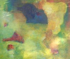 "Saatchi Art Artist Karin Aherne Jansen; Painting, ""Blue and Yellow 24"" #art"