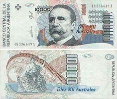 Argentina 10000 australes