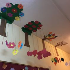 Picture - 9 - Student On - - Preschool Classroom Decor, Preschool Art Activities, Art Classroom, School Wall Decoration, School Door Decorations, Paper Crafts Origami, Art N Craft, Crafts For Kids, Fruit Crafts