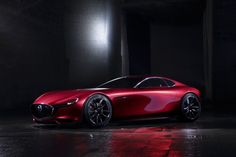 The Mazda RX-Vision Concept Is A Stunning RWD Rotary Coupe That Previews A New RX-7