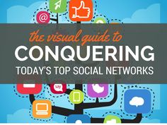 The Guide to Conquering Today's Top Visual Marketing Social Networks Content Marketing, Online Marketing, Social Media Marketing, Digital Marketing, Social Media Trends, Social Media Design, Social Networks, Entrepreneur, Pinterest Marketing
