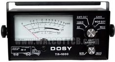 Dosy CB Ham Radio SWR Watt Meter Tr1000 Mobile Remote 1000 watt test Center by Redman CB. $105.95. The Dosy TR-1000 is an ideal meter for over the road drivers. It's both a SWR and power meter, offering 2 separate power scales for greater accuracy. It's smaller than most other Dosy meters and has a back lit faceplate so it's easy to read at night.   May Be Left in Antenna line Continuously    DOSY Professional Architecture         Large 4 1/2 inch Back lit Meter          ...