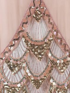 shewhoworshipscarlin:  Details of an evening dress, 1925.