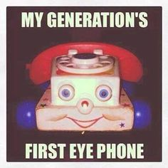 My first iPhone lol Memes Lol, Funny Memes, Funny Captions, It's Funny, Oldies But Goodies, Good Ole, Ol Days, Childhood Toys, My Childhood Memories