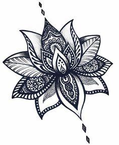 1,193 vind-ik-leuks, 18 reacties - ✷ ❉ ❁ Helena Lloret ❁ ❉ ✷ (@helenalloretart) op Instagram: ' Flor de Loto #mandala #mandalas #mandalatattoo #lotusflower #lotusflowertattoo #flowertattoo…'