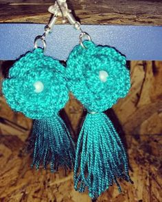Accesorios hechos 100% a mano tejidos en crochet, talento colombiano, contáctanos 3054787236 Crochet Earrings, Jewelry, Bangs, Stud Earrings, Tejidos, Accessories, Jewlery, Bijoux, Jewerly