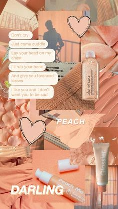 Peach Wallpaper, Iphone Background Wallpaper, Galaxy Wallpaper, Lock Screen Wallpaper, Hd Wallpaper, Wallpaper Quotes, Wallpaper Ideas, Iphone Wallpaper Tumblr Aesthetic, Aesthetic Pastel Wallpaper