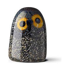 IITTALA Glass barn owl (Multi coloured)