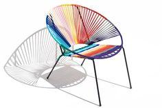 Chair, Furniture, Happy, Home Decor, Magic Realism, Woven Chair, Acapulco Chair, Metal Chairs, Rocking Chair