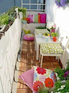 3 Small Balcony Design Tips And 50 Ideas | ComfyDwelling.com