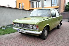 Fiat 125p 1500 1300 1974  chromowany przód zabytek