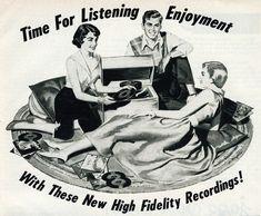 vinylespassion:  Time for listening enjoyment   Record Love!