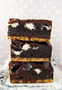 Easy S'mores Brownies