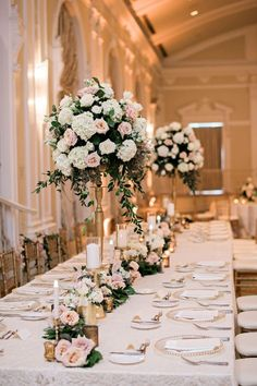 Wedding decor rose gold Wedding ideas by color: rose gold wedding decoration . Wedding decorations rose gold Wedding ideas by color: rose gold wedding decoration – venue Rose Gold Centerpiece, Gold Wedding Centerpieces, Floral Wedding Decorations, Wedding Flower Arrangements, Wedding Bouquets, Centerpiece Ideas, Decor Wedding, Tall Flower Centerpieces, Wedding Cakes