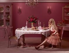 In The Dollhouse - Dina Goldstein