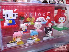 Sanrio nanoblocks = kawaii