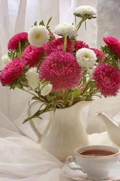 Good Morning Picture, Morning Pictures, Korean Artist, Contentment, Table Decorations, Easy, Home Decor, Decoration Home, Room Decor