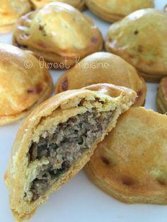 pâtés salés aau porc de Noel - cuisine Antillaise, creole food