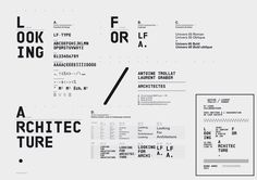 Looking For Architecture, #identité visuelle © www.super-script.com | #identity #super-script