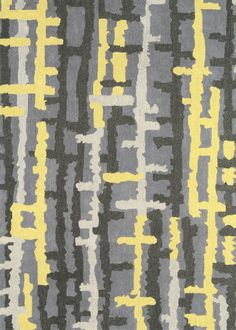 Matrix Rug MAX38 Ripley Yellow Silver Grey Rug, Cheap Rugs, Yellow Rug, Matrix, Hand Tufted Rugs, Round Rugs, Grey Rugs, Rugs Online, Modern Rugs