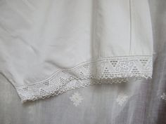 Vintage French Knickers 1920s. pure cotton by JacquelineMcEwan