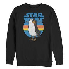 Star Wars Mens - The Last Jedi Retro Porg Sweatshirt