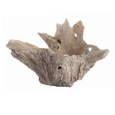 large driftwood bowl - table centerpiece option Bowl Dimensions 16 H x 25 DIA Custom Options Available As Shown Only