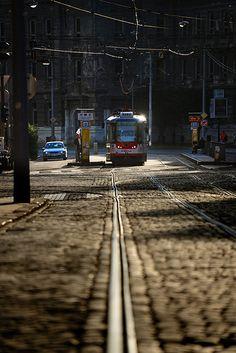 Olomouc Nyc Subway, Czech Republic, Prague, Railroad Tracks, Travelling, Trips, Beautiful Places, Daughter, Earth