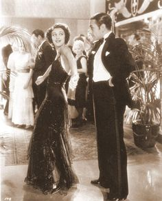 "Ann Dvorak and George Raft in ""Scarface"" (1932)"