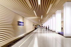 Shortlist Announced for the Moscow Metro Station Competition
